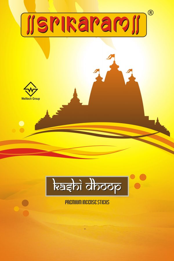 Kashi Dhoop Zipper by Srikaram Agarbatti