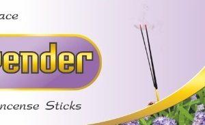 Lavender incense sticks By Srikaram Agarbatti