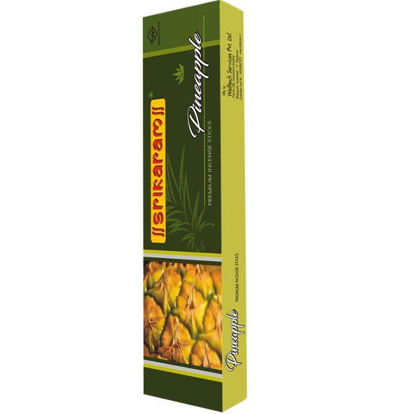 Pineapple Incense Sticks by Srikaram Agarbatti