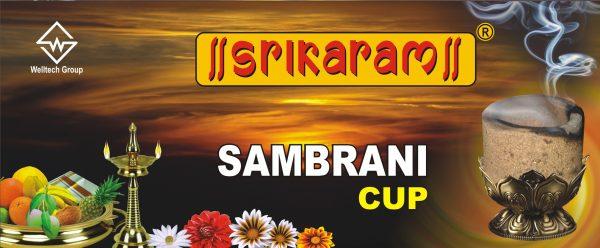 Maha Sambrani Cup By Srikaram Agarbatti